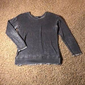 A gray Miss Chievous long sleeve shirt